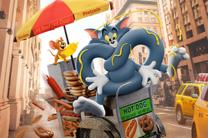 Tom And Jerry 2021 4k Wallpaper