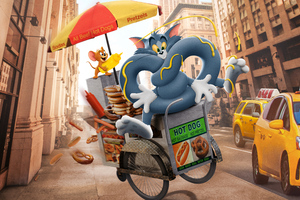Tom And Jerry Cartoon Movie 10k Wallpaper