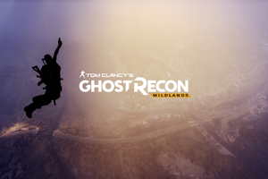 Tom Clancys Ghost Recon Wildlands 4k Logo