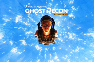 Tom Clancys Ghost Recon Wildlands Skydiving 4k