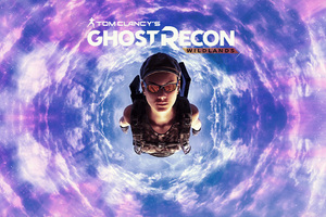Tom Clancys Ghost Recon Wildlands Skydiving Wallpaper