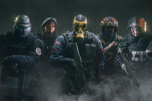 Tom Clancys Rainbow Six Siege 2016 Wallpaper