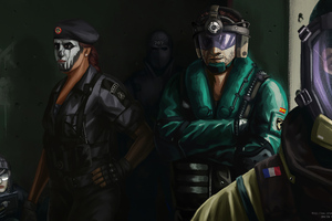 Tom Clancys Rainbow Six Siege Hunters 4k Wallpaper