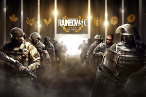 Tom Clancys Rainbow Six Siege Pro League 4k Wallpaper