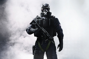 Tom Clancys Rainbow Six Siege Soldier 4k Wallpaper