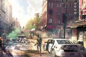 Tom Clancys The Division 2 Concept Art Downtown 8k Wallpaper