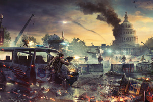 Tom Clancys The Division 2 Video Game Wallpaper