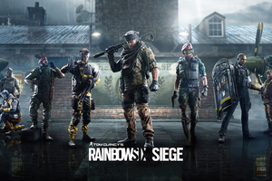 Tom Clanycs Rainbow Six Siege 4k