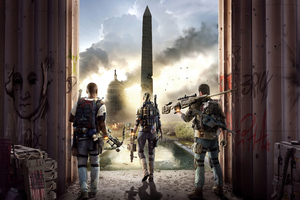 Tom Clanycs The Division 2 4k Wallpaper