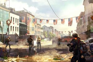 Tom Clanycs The Division 2 Key Art 8k Wallpaper