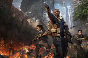 Tom Clanycs The Division 2 Warlords Of New York 8k Wallpaper