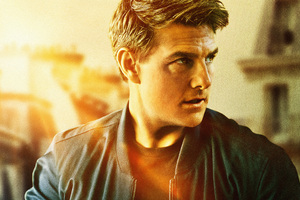 Tom Cruise As Ethan Hunt In Mission Impossible Fallout Movie