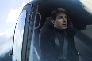 Tom Cruise Flying Helicopter Mission Impossible Fallout 4k Wallpaper