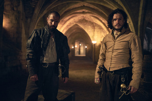 Tom Cullen And Kit Harington In Gunpowder Wallpaper