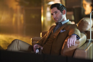 Tom Ellis As Lucifer Season 3 2018 5k