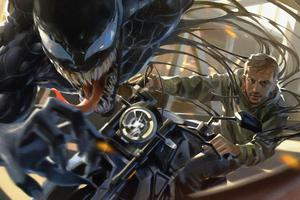 Tom Hardy As Eddie Brock In Venom 4k Wallpaper