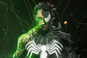 Tom Hardy As Venom 4k Wallpaper