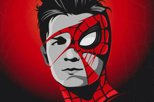 Tom Holland Mask 4k