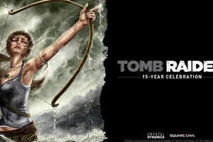 Tom Raider 15 Years Wallpaper