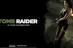 Tomb Raider 15 Years Celebration Wallpaper