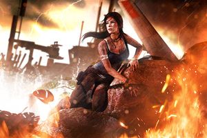 Tomb Raider 2013 Lara Croft 4k Wallpaper