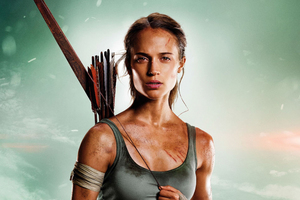 Tomb Raider 2018 Alicia Vikander HD Wallpaper