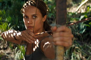 Tomb Raider 2018 Alicia Vikander Wallpaper