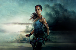 Tomb Raider 2018 Movie Alicia Vikander Wallpaper