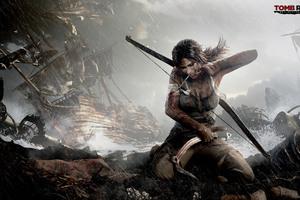 Tomb Raider 4k 2017 Art Wallpaper
