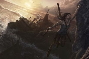 Tomb Raider 5k Artwork