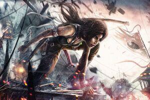 Tomb Raider 8k Artwork