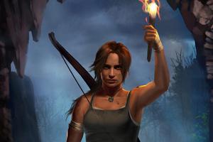 Tomb Raider Art 4k Wallpaper