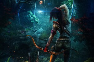 Tomb Raider Art Wallpaper