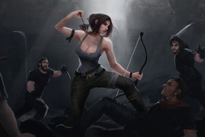 Tomb Raider Art4k Wallpaper