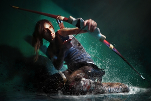 Tomb Raider Cosplay 4k Wallpaper
