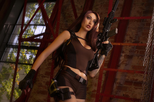 Tomb Raider Cosplay Lara Croft 4k