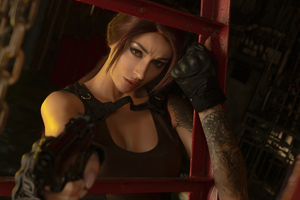 Tomb Raider Cosplay Of Lara Croft 4k