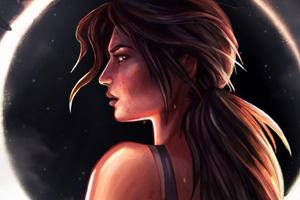 Tomb Raider Digital Art 4k