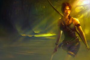 Tomb Raider Fantasy Girl 4k Wallpaper