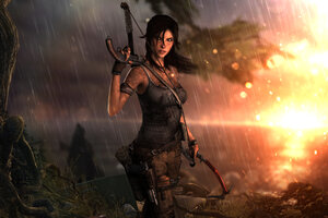 Tomb Raider Lara Croft 10k Wallpaper