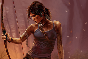 Tomb Raider Lara Croft Art 4k