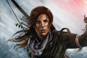Tomb Raider Lara Croft Art