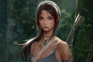 Tomb Raider Lara Croft Artwork
