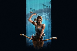 Tomb Raider Lara Croft Video Game Art Wallpaper