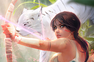 Tomb Raider Laracroft Wallpaper