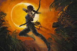 Tomb Raider New Artwork