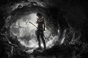 Tomb Raider Poster 8k Wallpaper