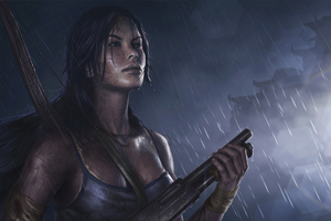 Tomb Raider Reborn 5k Art Wallpaper