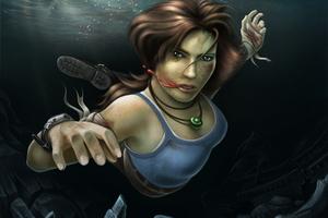 Tomb Raider Reborn Underwater
