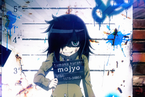 Tomoko Kuroki Anime Watamote Wallpaper